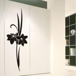 Adesivo de Parede Floral Mirtes