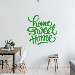 Adesivo de Parede Home Sweet Home