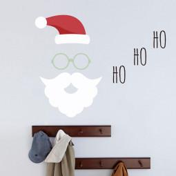Adesivo de Parede Natal Ho Ho Ho