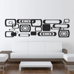 Adesivos Decorativos Quadrados Abstratos II