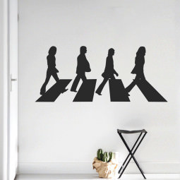 Adesivo de Parede Beatles