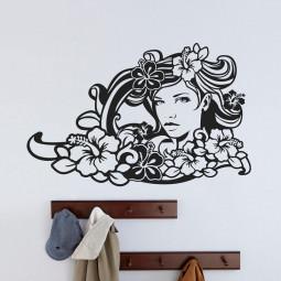 Adesivo Decorativo Mulher