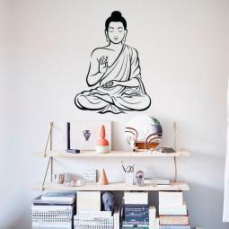 Adesivo de Parede Buda