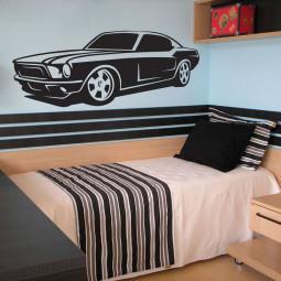 Adesivo Decorativo Mustang