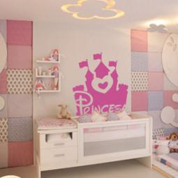 Adesivo de Parede Infantil Princesa