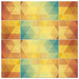Adesivo para Azulejo Abstrato