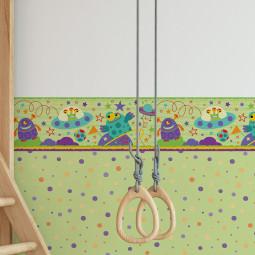 Faixa Decorativa Infantil Alienígenas - Has#Tag - Rolo com 5 Metros