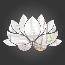 Espelho Decorativo Flor de Lótus II