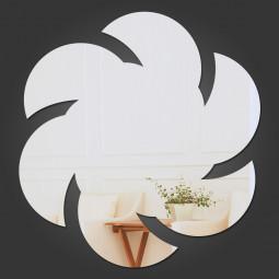 Espelho Decorativo Flor Abstrata