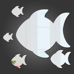 Espelho Decorativo Peixes