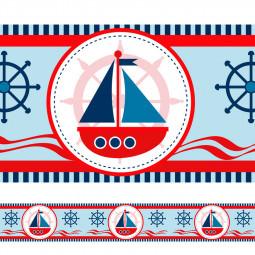 Faixa Decorativa Infantil Barco Marinheiro