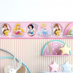 Faixa Decorativa Infantil Princesas - Disney - Rolo com 5 Metros