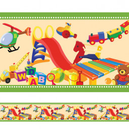 Faixa Decorativa Brinquedos