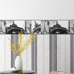 Faixa Decorativa Torre Eiffel - Allegra - Rolo com 5 Metros