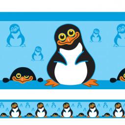 Faixa Decorativa Pinguim Menino