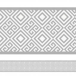 Faixa Decorativa Geométrica