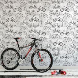 Papel de Parede Bicicletas