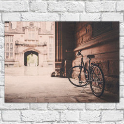 Quadro Decorativo Bike Retrô - Em Canvas