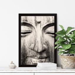 Quadro Decorativo A Face de Buddha