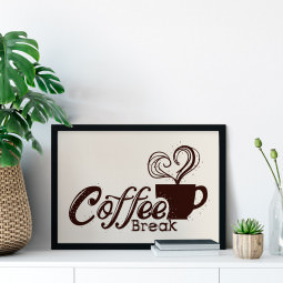 Quadro Decorativo Coffee Break