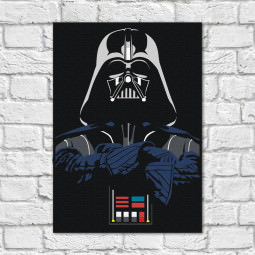 Quadro Decorativo Darth Vader