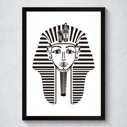 Quadro Decorativo Faraó