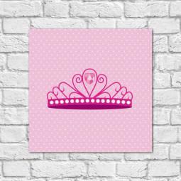 Quadro Decorativo Infantil Coroa