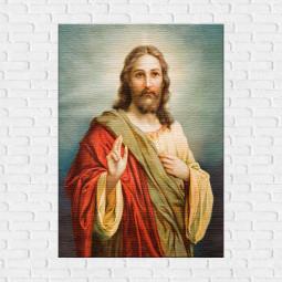 Quadro Decorativo Jesus Cristo - Em Canvas