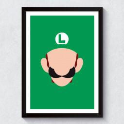 Quadro Decorativo Mario Luigi