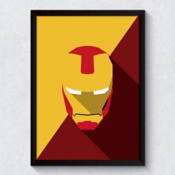 Quadro Decorativo Homem De Ferro