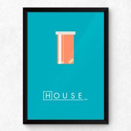 Quadro Decorativo Minimalista House