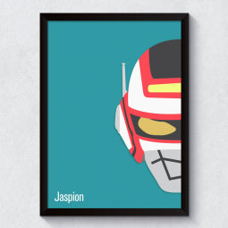 Quadro Decorativo Jaspion