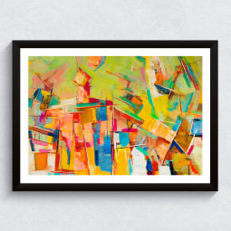Quadro Decorativo Abstrato
