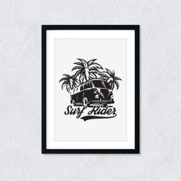 Quadro Decorativo Surf Rider