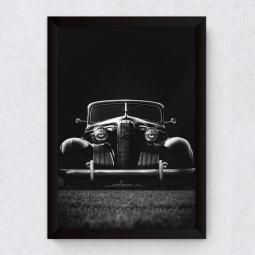 Quadro Decorativo Vintage Carro Clássico