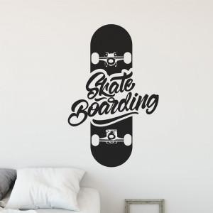 Adesivo de Parede Skate