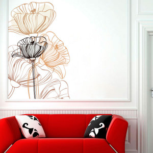 Adesivo Decorativo Flor