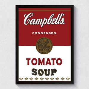Quadro Decorativo Campbell's Tomato Soup