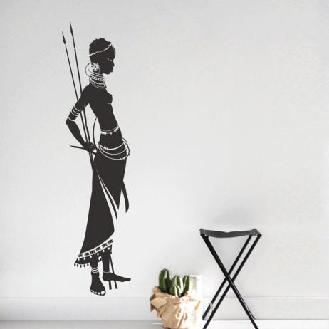 Adesivo Decorativo Africana