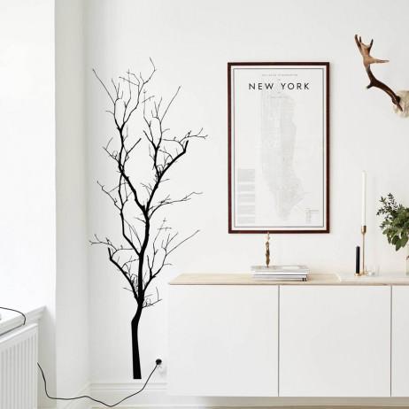 Adesivo de Parede Árvore Seca III