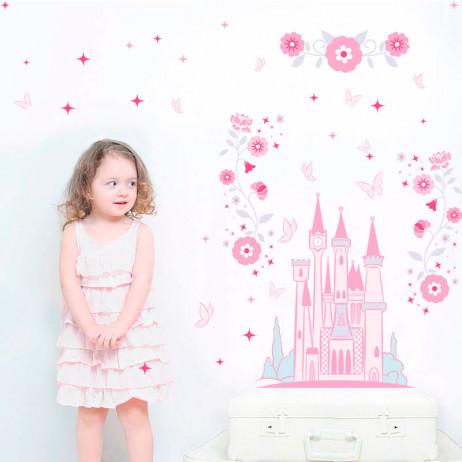 Adesivo de Parede Infantil Castelo