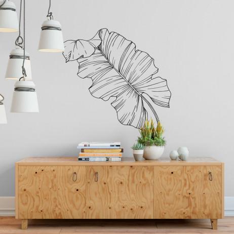 Adesivo de Parede Folha de Palmeira