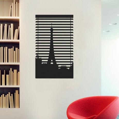 Adesivo de Parede Decorativo Persiana Paris