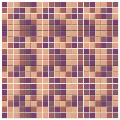 Adesivo para Azulejo Português Hidráulico Pastilhas Lilás Rosa Roxo