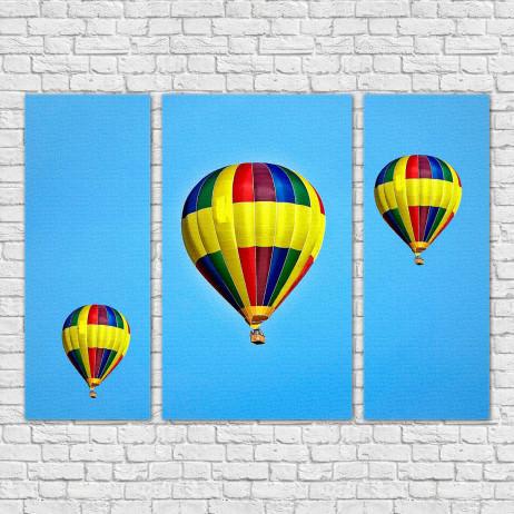 Quadro Decorativo Balões
