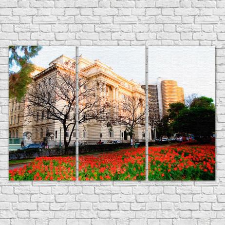 Conjunto de Quadros Decorativos Centro Cultural Banco do Brasil