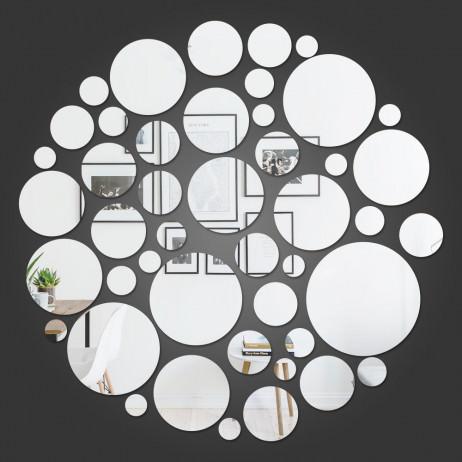 Espelho Decorativo Círculo De Círculos