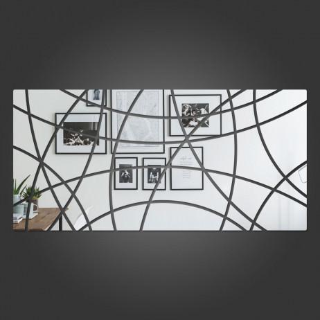 Espelho Decorativo Retângulo Abstrato