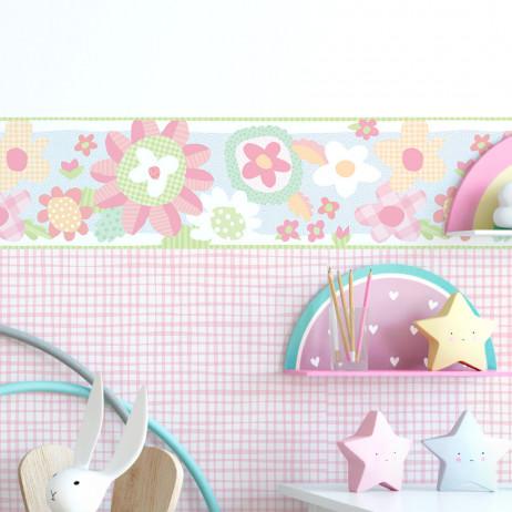 Faixa Decorativa Infantil Floresta - Nido - Rolo com 5 Metros