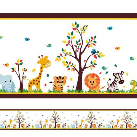 Faixa Decorativa Safari Infantil